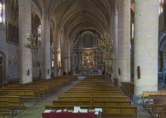 "Eglise Notre-Dame de l'Assomption - English:  Grenade, Haute-Garonne, France. Interior of the church ''Église Notre-Dame de l'Assomption""""."