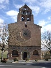 Eglise Saint-Christophe des Templiers - Français:   Église des Templiers de Montsaunès (Haute-Garonne, France).