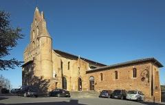 Eglise - English:  Church of Mary Magdalene and premises of