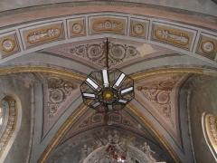 Ancienne cathédrale Sainte-Marie - Le plafond du chœur de l'ancienne cathédrale de Rieux, Haute-Garonne, France.