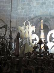 Ancienne cathédrale Notre-Dame - Boiseries du chœur. Cathédrale Notre-Dame de Saint-Bertrand-de-Comminges.