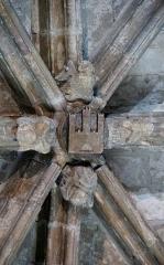 Ancienne cathédrale Notre-Dame - Clé de voûte