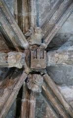 Ancienne cathédrale Notre-Dame - Français:   Clé de voûte de la Chapelle de la Vierge Marie