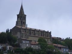 Eglise Saint-Félix - Français:   Vue sud-ouest de l\'église Saint-Félix, de Saint-Félix-Lauragais, Haute-Garonne, France.