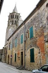 Presbytère - Français:   Presbytère et église Saint-Félix de Saint-Félix-Lauragais