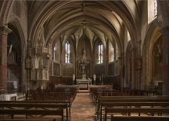 Eglise Sainte-Agathe et Saint-Julien - English:  Saint-Julia, Haute-Garonne, France. Church Sainte-Agathe et Saint-Julien interior