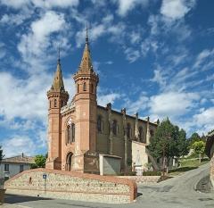 Nouvelle église - English:  Saint-Rustice, St. Peter church.