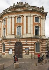 Hôtel de ville appelé Le Capitole - English:  Théâtre du Capitole, main entrance.