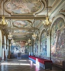 Hôtel de ville appelé Le Capitole - English:  Gervais Hall, old marriage hall.