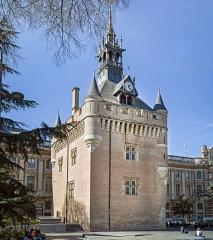 Hôtel de ville appelé Le Capitole - French painter and architect