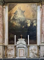 Cathédrale Saint-Etienne - English:  Chapel of St. Vincent de Paul. Altarpiece table  Saint Vincent establishing Daughters of Charity  by Jean-François Faure in 1820.