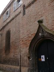 Chapelle Notre-Dame-de-Nazareth - English: Our-Lady-of-Nazareth's chapel of Toulouse (Haute-Garonne, Midi-Pyrénées, France).