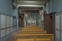 Ancienne chapelle des Pénitents Bleus, actuellement église Saint-Jérôme - English:  Church Saint-Jérôme from Toulouse, Chapel of the Blessed Sacrament