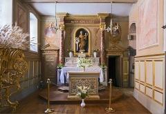 Ancienne chapelle des Pénitents Bleus, actuellement église Saint-Jérôme - English:  Church Saint-Jérôme from Toulouse, Chapelle Notre Dame du Bon Secours.