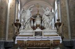 Ancienne chartreuse - L'autel en marbre de St-Pierre des Chartreux (18ème siècle), Toulouse, France