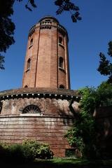 Château d'eau et station de pompage - Français:   Depuis 1974, cet ancien château d\'eau et station de pompage sert de galerie d\'exposition photographique et de centre de documentation.