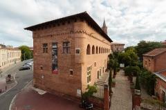 Ancien collège Saint-Raymond - Français:   Musée Saint-Raymond, vue depuis la bibliothèque du musée.