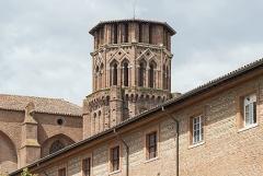 Ancien couvent des Augustins - English:  Musée des Augustins in Toulouse. Bell tower.