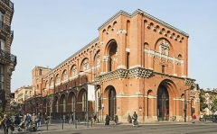 Ancien couvent des Augustins - English:  Musée des Augustins in Toulouse.  Aile Darcy - Viollet-le-duc.
