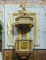 Couvent des Carmes Déchaussées - English:   Church Saint-Exupère from Toulouse, Pulpit by Jacques-Pascal Virebent