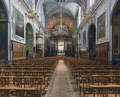 Couvent des Carmes Déchaussées - English:   Church Saint-Exupère from Toulouse, Interior