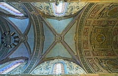 Couvent des Carmes Déchaussées - English:   Church Saint-Exupère from Toulouse, ceiling by Gaétan Ceroni.