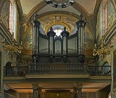 Couvent des Carmes Déchaussées - English:   Church Saint-Exupère from Toulouse, organ.