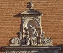 Couvent des Carmes Déchaussées - French sculptor