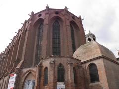Ancien couvent des Jacobins - Couvent des Jacobins à Toulouse (Haute-Garonne, France).