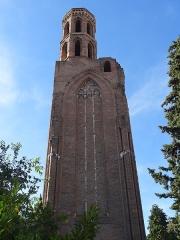 Ruines de l'église des Cordeliers - Français:   Église des Cordeliers de Toulouse