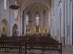 Eglise de la Dalbade - English:  Notre-Dame de la Dalbade  in Toulouse. Interior view of the nave.