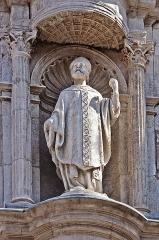 Eglise de la Dalbade - English:  Notre-Dame de la Dalbade in Toulouse. Statue of St Germerius