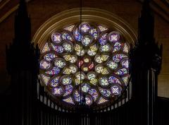 Eglise de la Dalbade - English:  Church Notre-Dame de la Dalbade in  Toulouse. Rose windows.