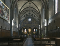 Eglise Notre-Dame-du-Taur - English:  Church Notre-Dame du Taur from Toulouse. Interior.