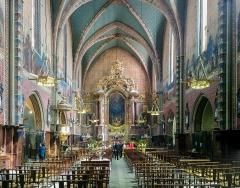 Eglise Saint-Nicolas - English:   Saint Nicolas Church from Toulouse - Interior.