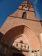 Eglise Saint-Nicolas - Français:   Toulouse (Haute-Garonne, France): L\'église Saint-Nicolas vue depuis la Grande rue Saint-Nicolas.