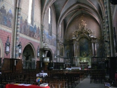 Eglise Saint-Nicolas - L'église Saint-Nicolas de Toulouse (Haute-Garonne, Midi-Pyrénées, France).