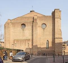 Ancienne église Saint-Pierre-des-Cuisines - English:  Former church Saint-Pierre des Cuisines from Toulouse. Western Facade.