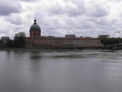 Hospice de la Grave - Hôpital de La Grave et la Garonne à Toulouse (Haute-Garonne, France).