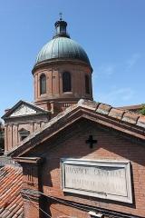 Hospice de la Grave - Français:   Toulouse (Haute-Garonne, France): Le dôme de la chapelle de l\'hôpital Saint-Joseph de la Grave.