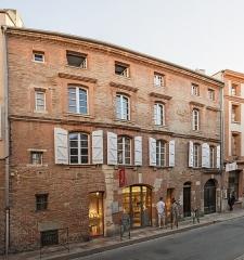 Hôtel de Bonnefoy - English:  Hôtel de Bonnefoy in Toulouse, facade. Sixteenth century.