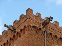 Ancien hôtel du Capitoul Pierre-Dahus, dit Hôtel Roquette ou Tour Tournoer - Català: Detall de la torre de l'antic hôtel del Capitoul Pierre-Dahus (Tolosa)