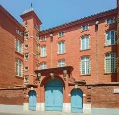 Hôtel Caulet-Resseguier (ou hôtel Duranti) - English:  Hôtel de Caulet-Resseguier in Toulouse - Facade rue du Lieutenant-Colonel Pélissier