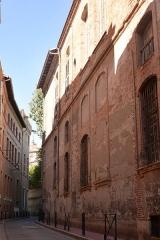 Hôtel Courtois de Viçoze dit aussi hôtel d'Espie - Français:   Hôtel d\'Espie,  dit aussi hôtel Courtois de Viçose, est un hôtel particulier à Toulouse, actuellement le consulat de Belgique; vu par la rue d\'Aussargues.