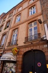 Hôtel Jean Catel - Français:   Hôtel Jean Catel, 6 place Saint-Étienne, Toulouse.
