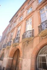 Hôtel Reynier - Italiano:   Hôtel Reynier à Toulouse, au 20 de la rue Mage; sans doute construit par Bernard Davasse de Virvin ou Virbent, capitoul en 1763.