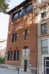 Immeuble dit de Seube - This building is indexed in the Base Mérimée, a database of architectural heritage maintained by the French Ministry of Culture,under the reference PA00094580 .
