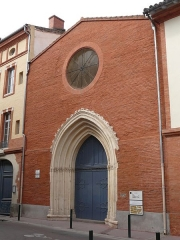 Fonderie de canons, actuellement Institut catholique - English:   The former cannon foundry, currently the Catholic Institute, in Toulouse (Haute-Garonne, Midi-Pyrénées, France).