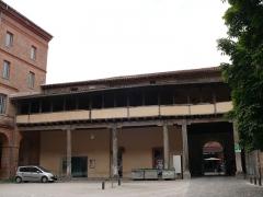 Ancien grand séminaire - English: The former Grand séminaire of Toulouse (Haute-Garonne, Midi-Pyrénées, France).