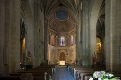 Eglise Saint-Pierre et Saint-Phébade - English:  Venerque. Church Saint-Pierre-et-Saint-Phébade, interior.